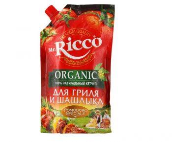 Кетчуп «Мистер Рикко Pomodoro для гриля и шашлыка»