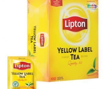 Чай «Lipton» 100 пак