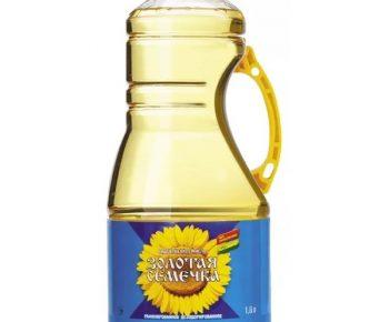 Масло подсолн.раф.дез. «Золотая семечка» 1,8 л