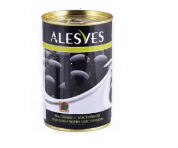 Маслины «Alesves» б/к целые 280гр