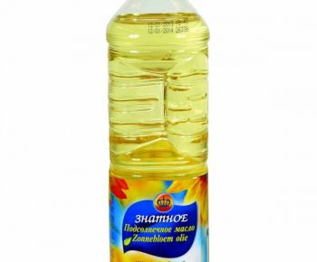 Масло «ЗНАТНОЕ» подсолн.раф.дез. 0,82