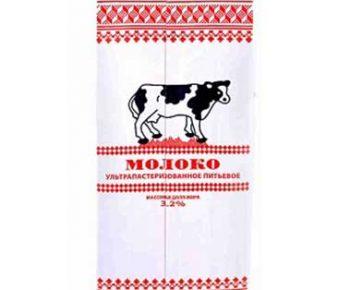 Молоко Коломенское 3,2% 1л