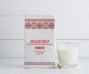 Молоко «Липецк» 3,2% 1л